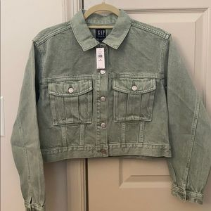 Gap Cropped Denim Jacket